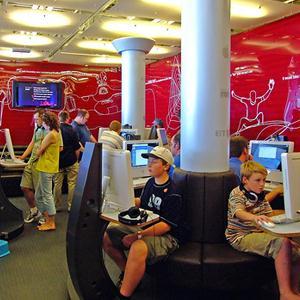 Интернет-кафе Полярных Зорь