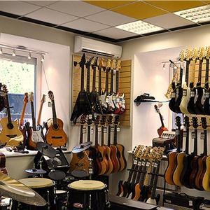 Музыкальные магазины Полярных Зорь